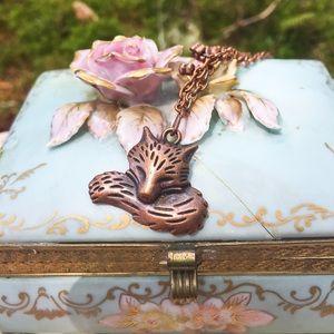 Jewelry - Fairytale fox necklace